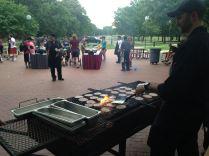 Cookout on Centennial Plaza