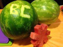 Watermelon and Movie in Krehbiel with SGA