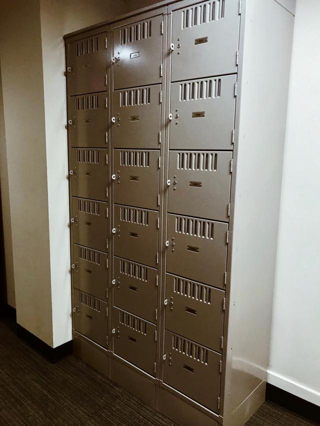 commuter lockers